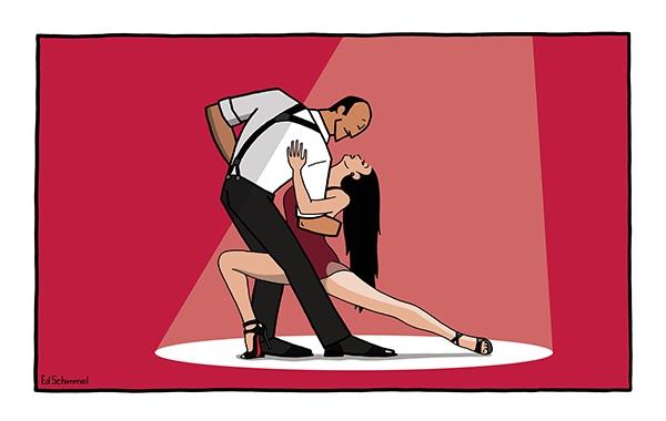 Ed Schimmel - Pop Artist in Australia - Passion del Tango