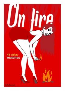 Ed Schimmel - Pop Artist in Australia - Redheads on fire