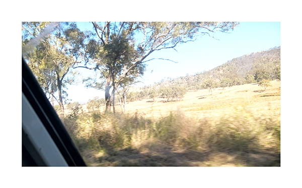 Ed Schimmel - Pop Artist in Australia - Drive to Kilcoy – 28th of July 2018 11:27:09 AM